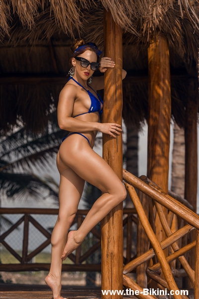 Bikini Thong Tanga con Volante