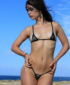 shiny lingerie thebikini 12